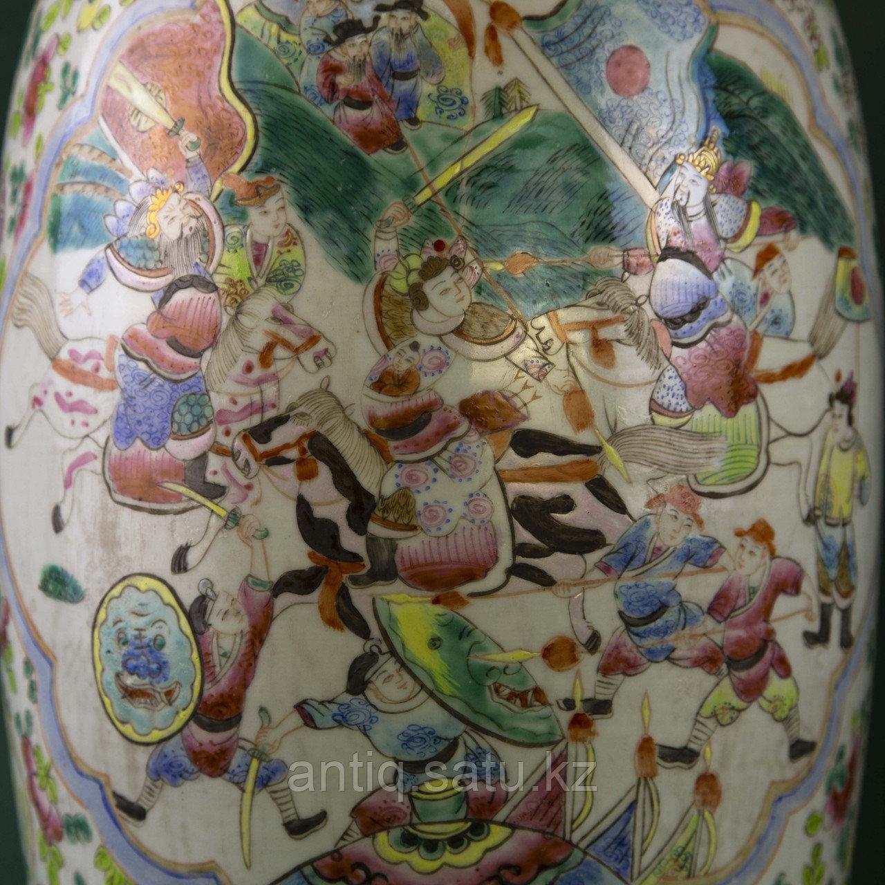 Парадные вазы. Китай. Начало ХХ века - фото 7