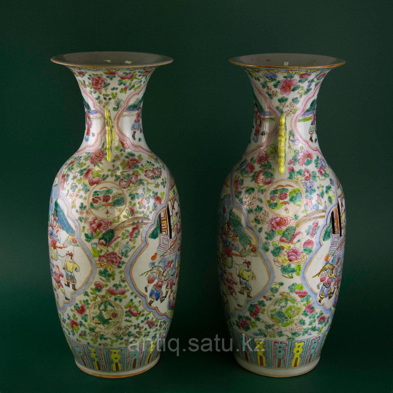 Парадные вазы. Китай. Начало ХХ века - фото 2