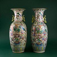 Парадные вазы. Китай. Начало ХХ века