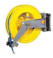 Катушка для шланга поворотная для воды/воздуха Meclube S-550