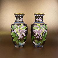 Парадные вазы. Китай. Середина ХХ века