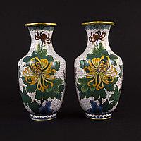Парные вазы. Китай. Середина ХХ века