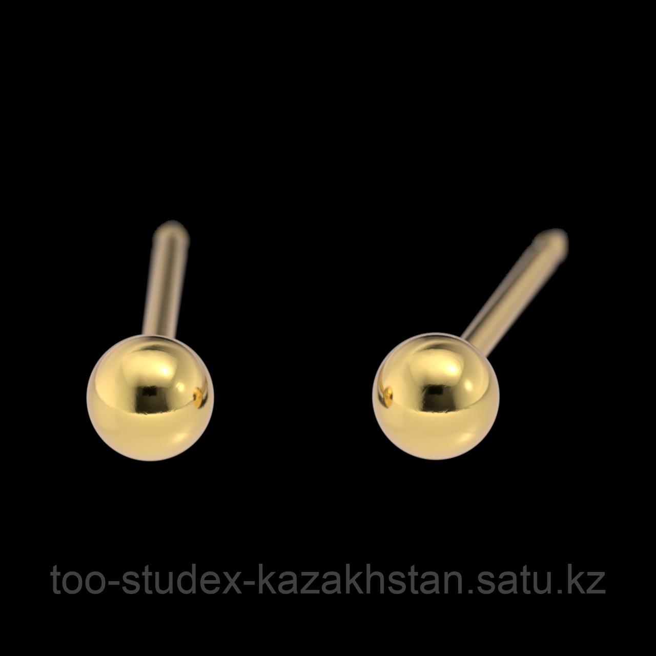 """7531-0300 Серьги-иглы System75™ """"Шарики"""""""