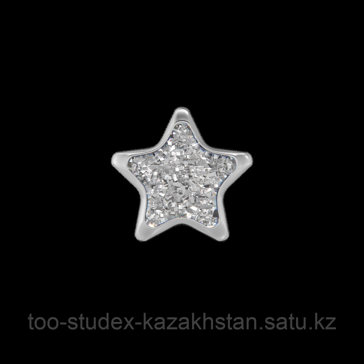 """Серьги для прокола STUDEX System75 """"Звезда"""" - фото 6"""