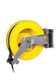 Катушка для шланга поворотная вода/воздух Meclube S-550 20 БАР