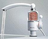 Электрический проточный водонагреватель на кран, фото 2