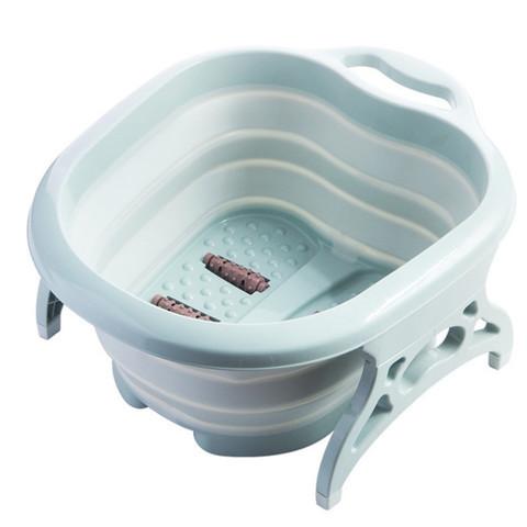 Складная силиконовая ванна для ног Foldable Foot Bucket.