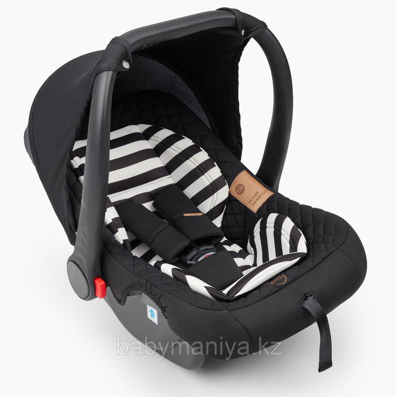 Автокресло 0-13 кг Happy Baby Skyler V2 Jet Black