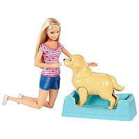 """Барби Игровой набор """"Кукла и собака с новорожденными щенками"""", фото 1"""