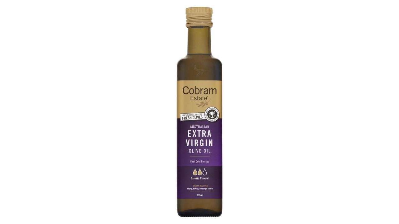 Масло оливковое Австралия Нерафинированное Первый Холодный отжим, средней насыщенности Cobram Estate,375 мл