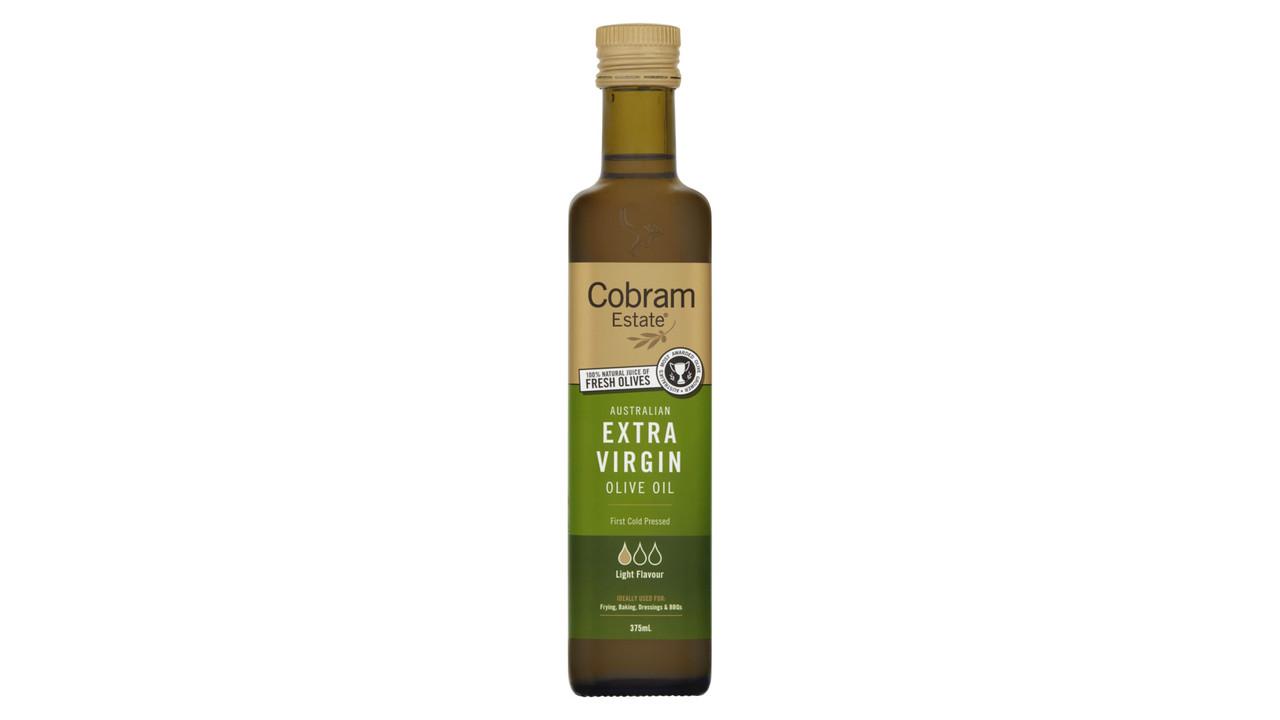 Масло оливковое  Первый Холодный отжим Cobram Estate, 375  мл  Легкое