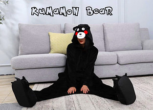 Кигуруми Кумамон (Черный медведь)