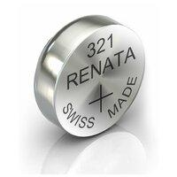Батарейка Renata R 321 SR616SW 1.55V, 1 шт, блистер