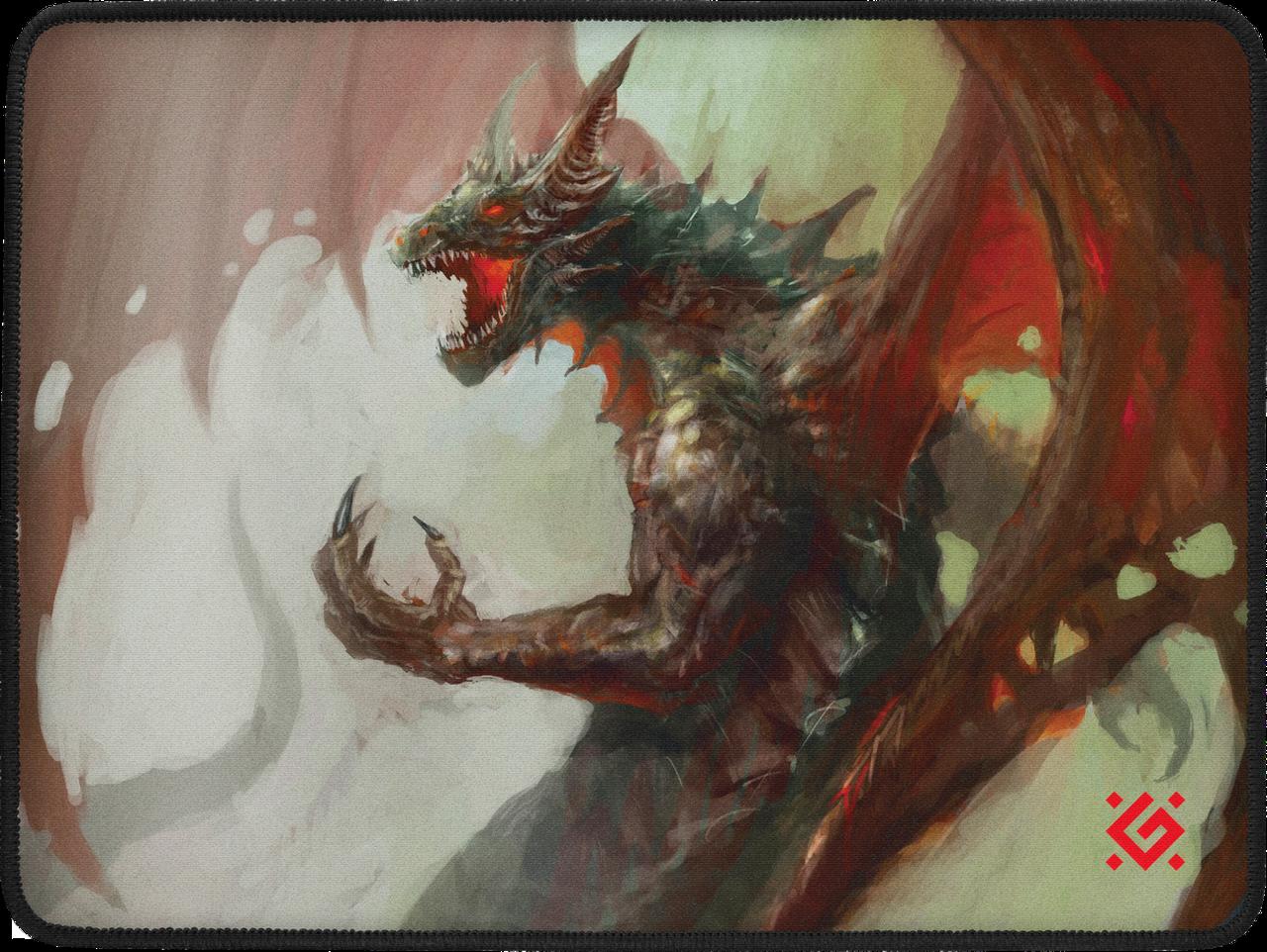 Коврик для мышки игровой Defender Dragon Rage M (360x270x3мм)