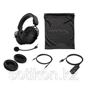 Наушники-гарнитура игровые HyperX HX-HSCAS-BK/WW Cloud Alpha S черный