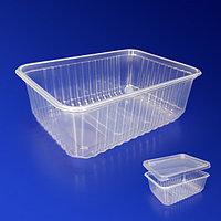 Kazakhstan Контейнер пластиковый 1000мл PP прозрачный 18х13х6,5см