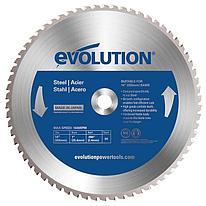 Диск пильный Evolution 66TBLADE 355х2,4х25,4х66 по стали.