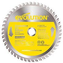 Диск пильный Evolution EVOBLADE180SS 180х20х1,8х48 по нержавеющей стали.