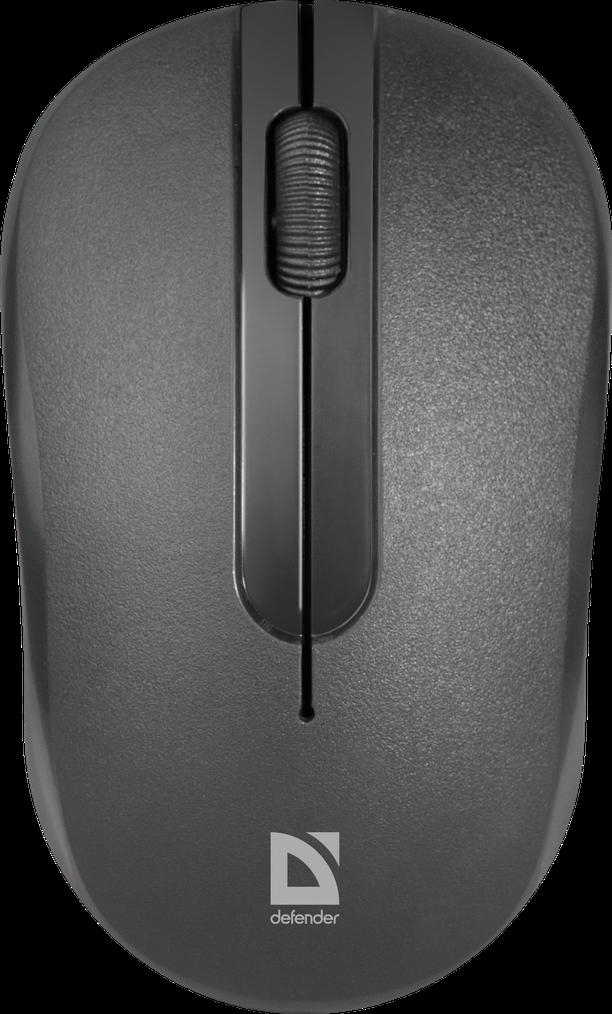 Беспроводная оптическая мышь Defender Hit MM-495  черный