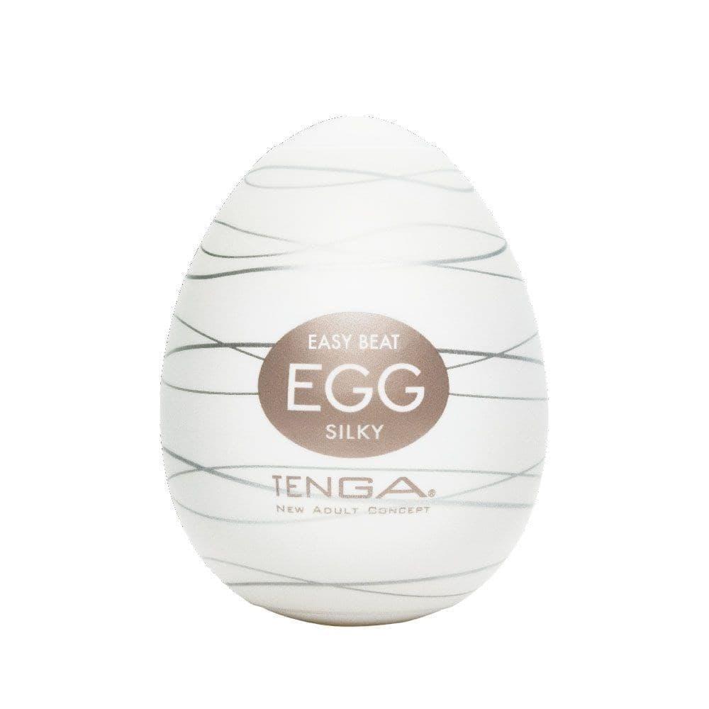 Яйцо - Мастурбатор Egg Silky от Tenga