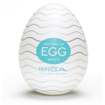Яйцо - Мастурбатор Egg Wavy от Tenga