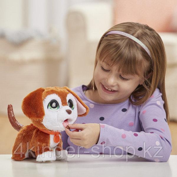 Интерактивная игрушка Hasbro FurReal Friends Большой шаловливый питомец Щенок - фото 4