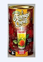 """Набор креативного творчества """"Гелевые свечи Аленький цветочек"""" своими руками в тубусе"""