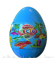 "Набор креативного творчества Тесто для лепки Master Do ""Dinosaurs Eggs Голубое"" (12 шт.)"