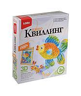 """Набор для квиллинга LORI панно """"Радужная рыбка"""", фото 1"""