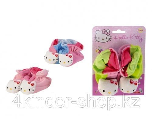 Тапочки-погремушки Hello Kitty
