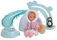 Кукла Еви на северном полюсе