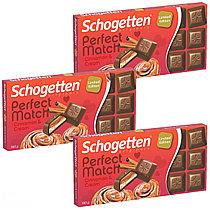 Schogetten Perfect Match Cinnamon & Cream с кусочками печенья и корицей 100гр (15 шт. в упаковке)