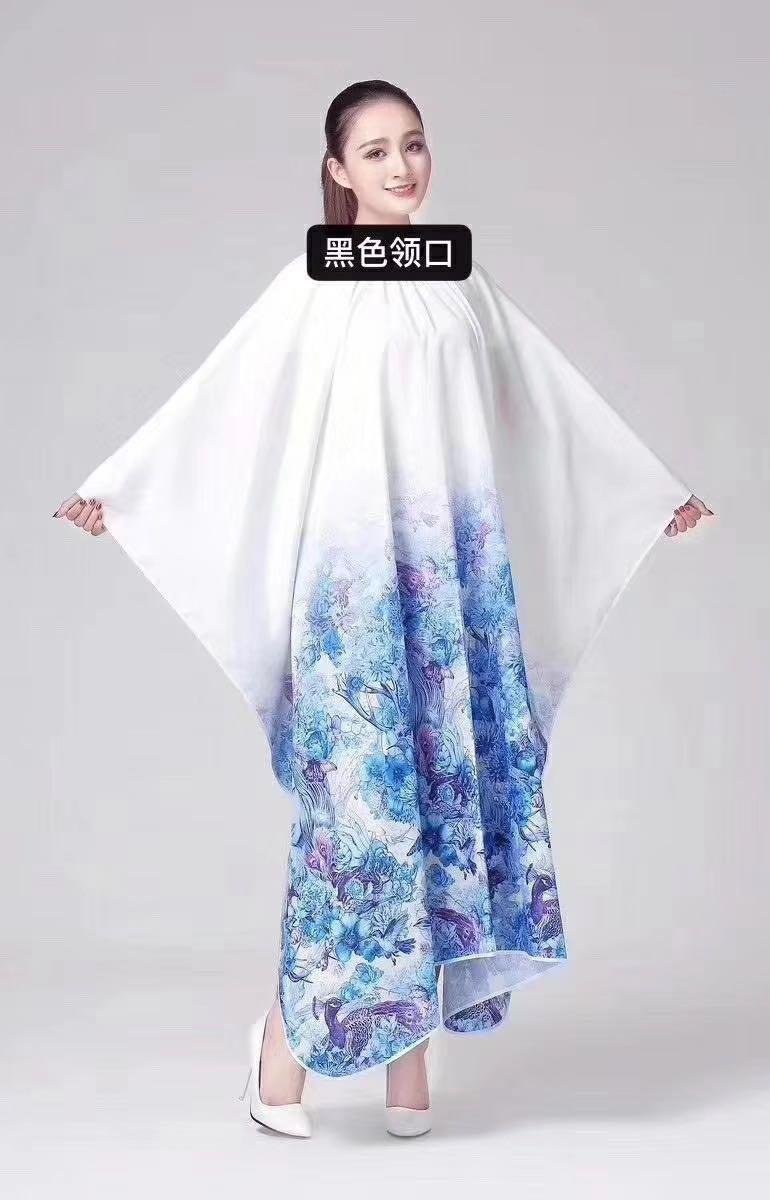Пеньюар белый с цветами