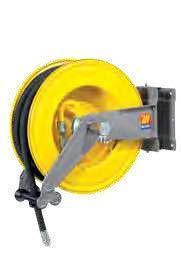 Катушка для шланга поворотная вода/воздух Meclube S-555 20 БАР