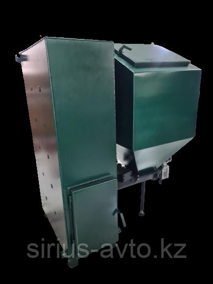 Твердотопливный автоматический котел 25 кВт