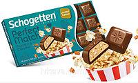Шоколад Schogetten Perfect Match Popcorn & Caramel 100гр (15 шт. в упаковке)