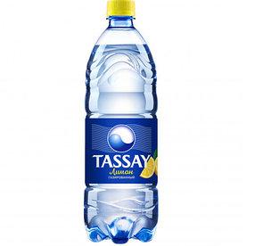 Вода Tassay ЛИМОН с газом 1 л.