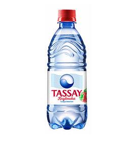 Вода Tassay КЛУБНИКА без газа 0,5 л.