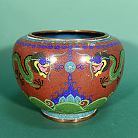 Парадная ваза Китай. Конец XIX века