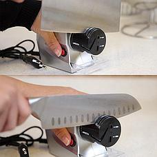 Уценка! Ножеточка электрическая «Острые грани» 2 в 1 (на батарейках), фото 3