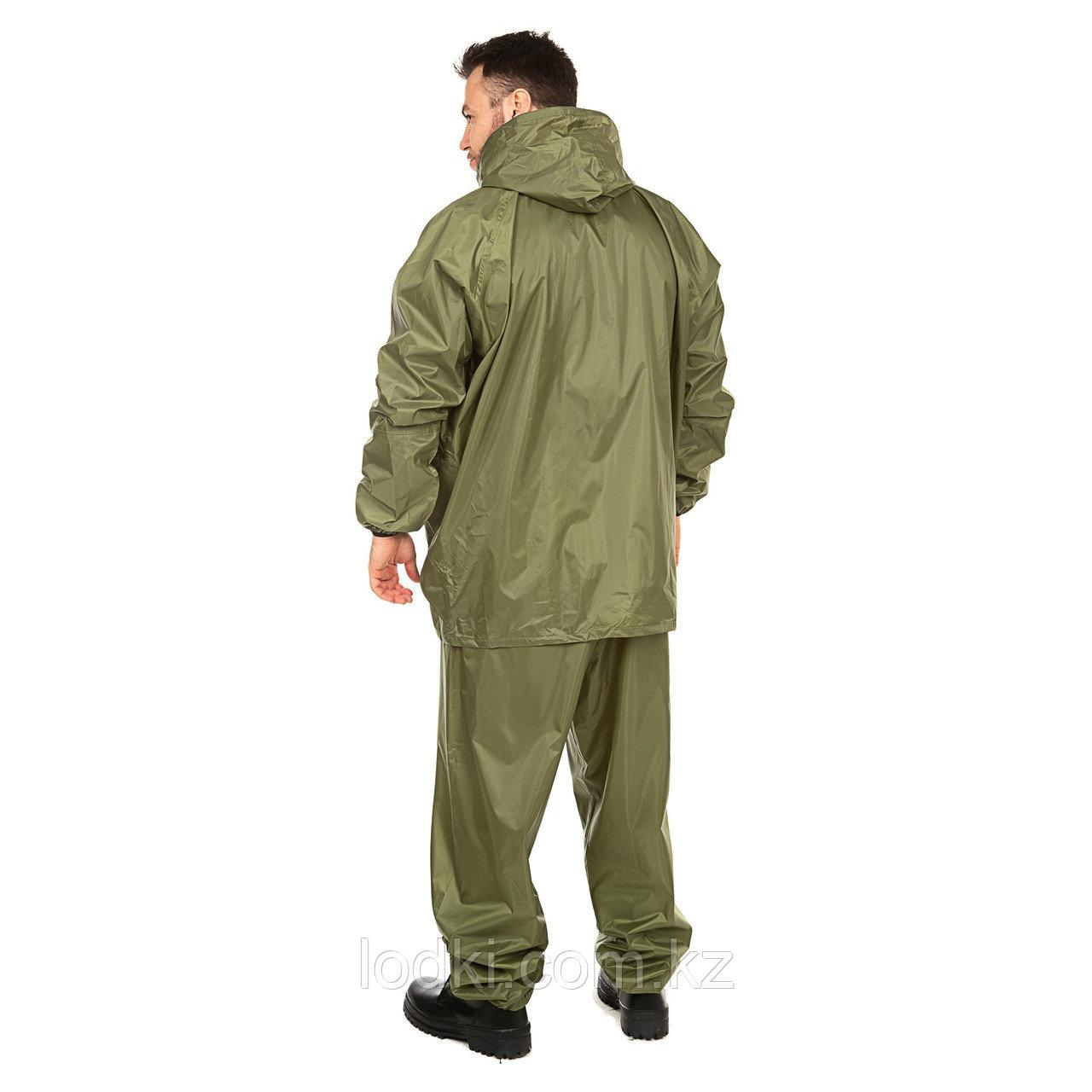 Костюм дождевик ВВЗ Шторм цвет Зеленый ткань Таффета PVC 20000мм Размеры от44до64 - фото 2