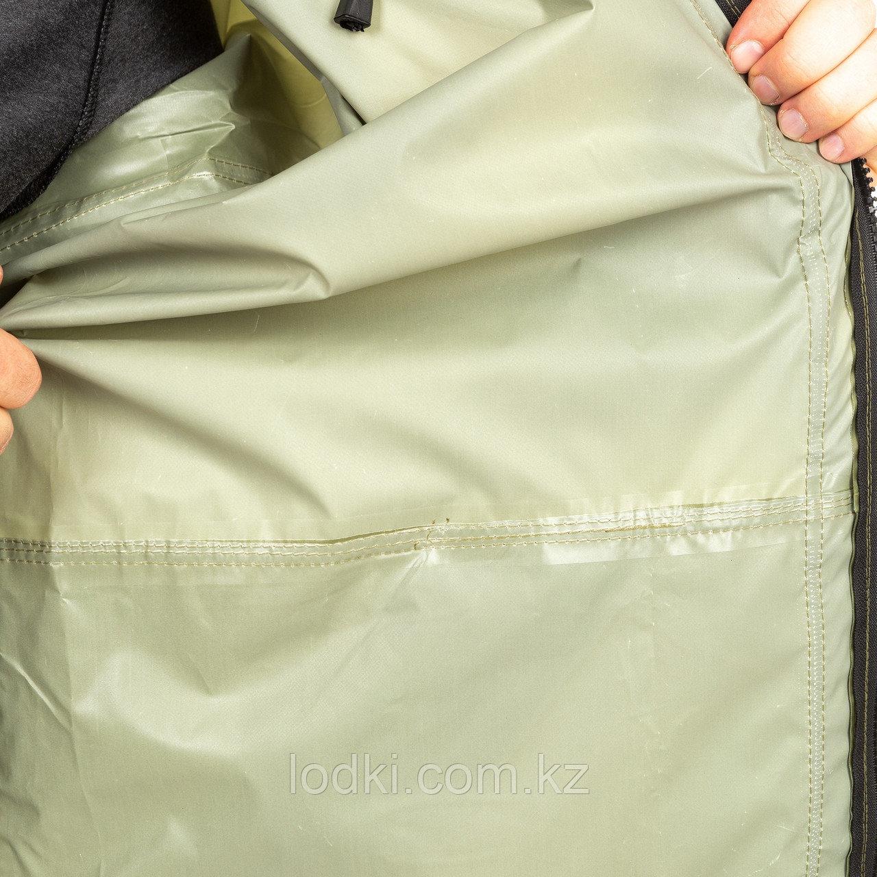 Костюм дождевик ВВЗ Шторм цвет Зеленый ткань Таффета PVC 20000мм Размеры от44до64 - фото 3
