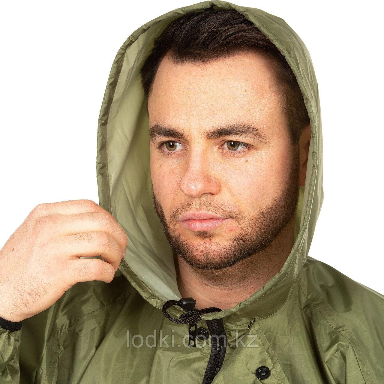 Костюм дождевик ВВЗ Шторм цвет Зеленый ткань Таффета PVC 20000мм Размеры от44до64 - фото 5