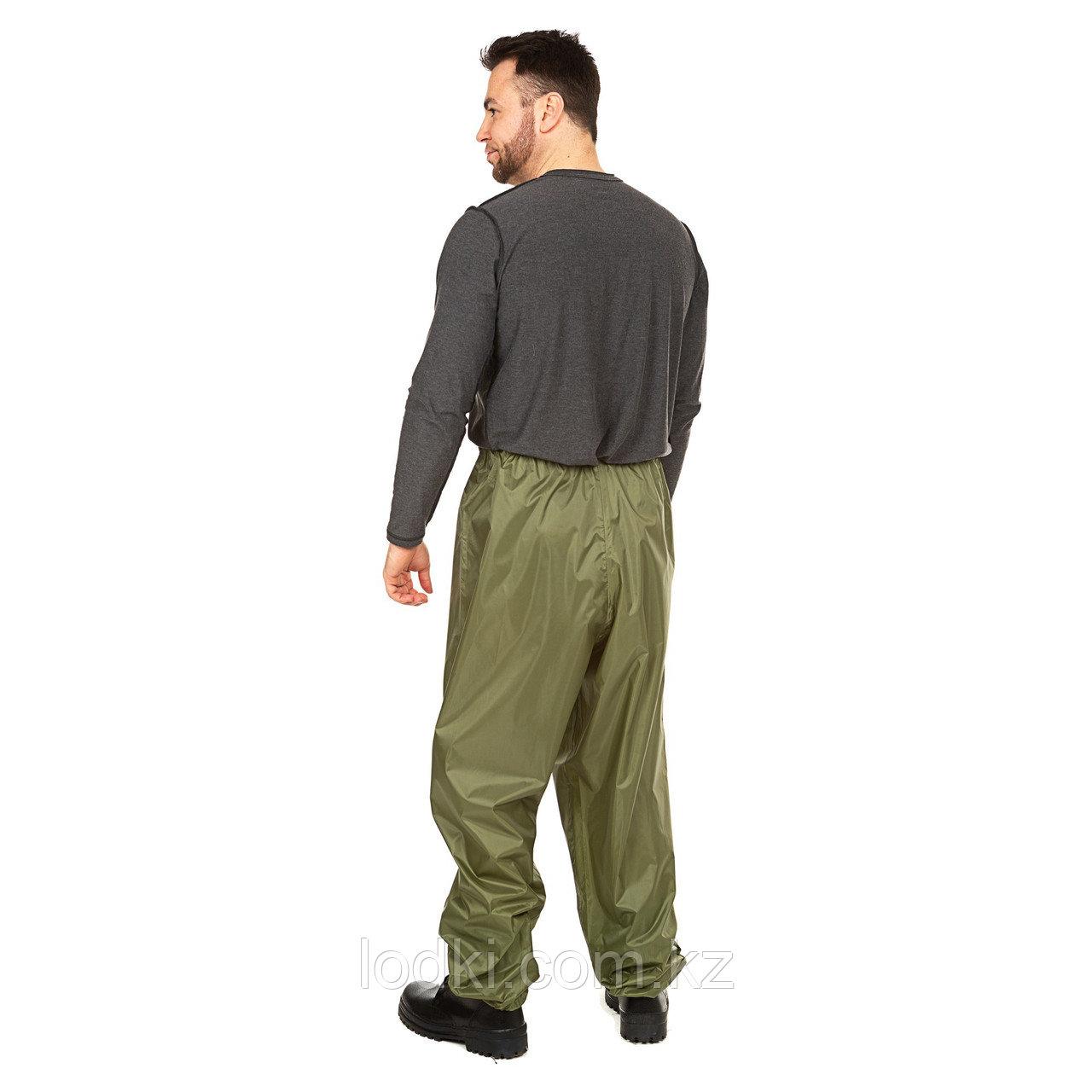Костюм дождевик ВВЗ Шторм цвет Зеленый ткань Таффета PVC 20000мм Размеры от44до64 - фото 6