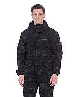Костюм для охоты и рыбаки летний Горка3 цвет Черный мультикам ткань Смесовая Рип-Стоп от44до64