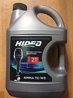 Масло для подвесных лодочных моторов hidea 2t nmma tc-w3 3л