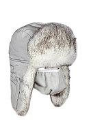Шапка ушанка зимняя с маской Евро Волк Полярный ткань Taslan