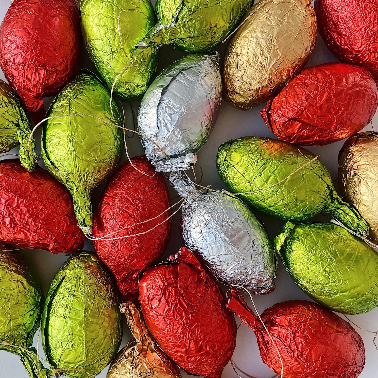 Шоколадные новогодние игрушки на Ёлку ШИШКИ 1кг