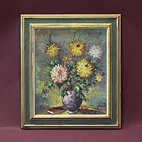 «Натюрморт с летними цветами». Автор: Armand Lacour (1910-1970)