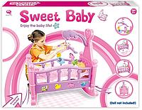 Кроваткой для кукол Sweet baby 25800
